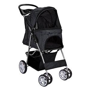 OxGord-Pet-Stroller-Cat-Dog-Easy-Walk-Folding-Travel-Carrier-Carriage