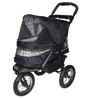 Pet Gear No-Zip Jogger Pet Stroller, Zipperless Entry
