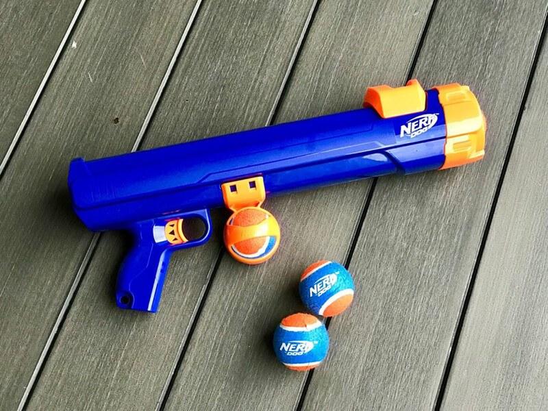 Nerf Dog Tennis Ball Blaster Wyrzutnia Piłek tenisowych dla psa